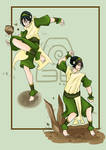Toph Beifong Poses by Taygetha