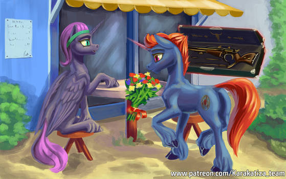 A Special gift for Special pony