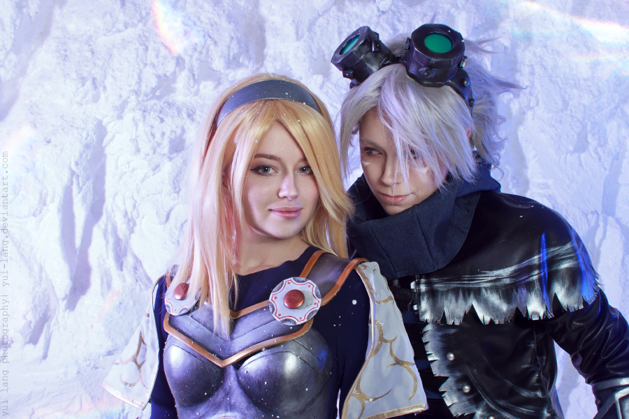 Lux+Ezreal by RiHarusame