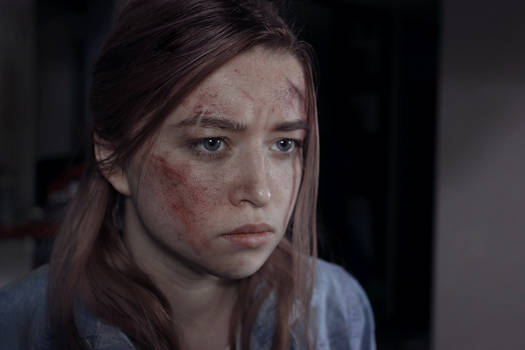 last of us 2 Ellie make up test