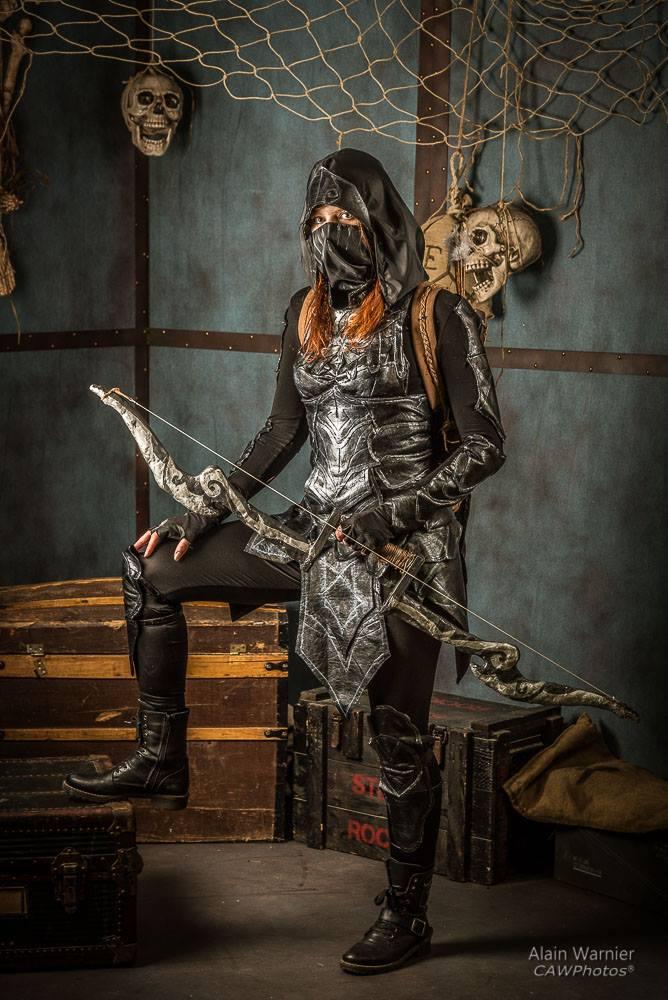 Nightingale Armor cosplay from Skyrim by Manoon-Nicetuna