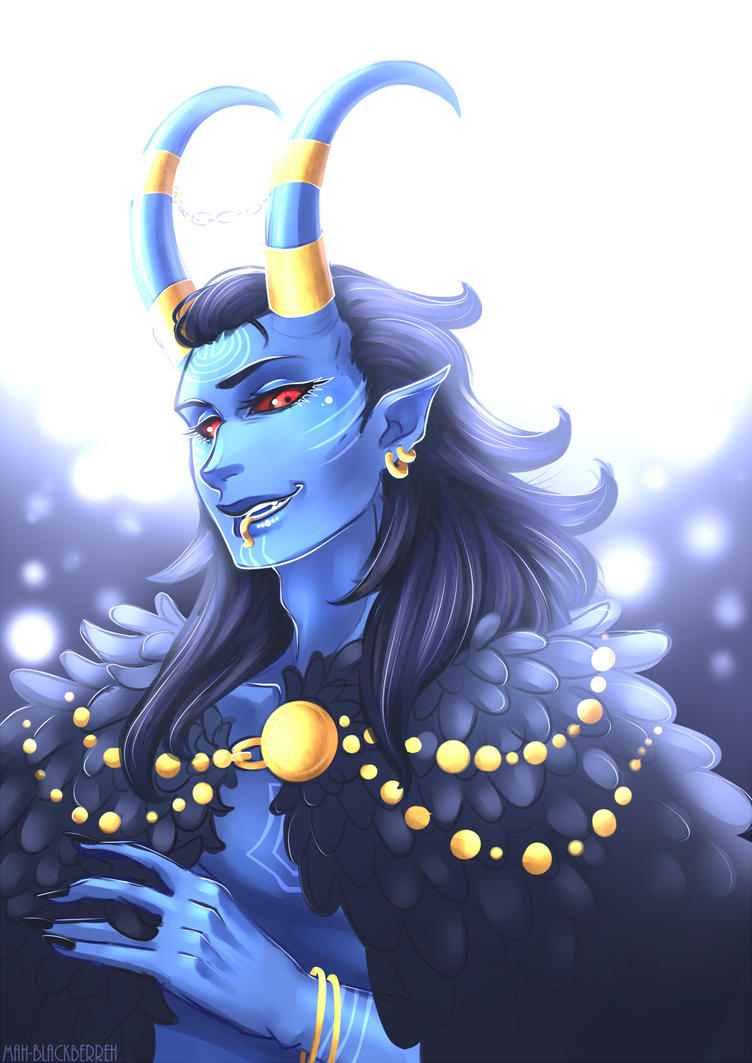 Jotun Loki by Blackberreh