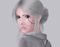 Ciri in witcher 3 by CoryCola