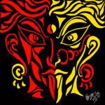 The Hindu Deity Series: KALI: The Goddess of Gore by thatcrazyG
