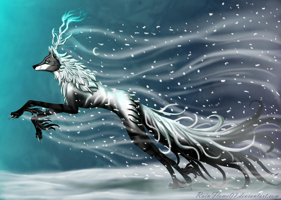 Frost Bringer by x-RainFlame-x