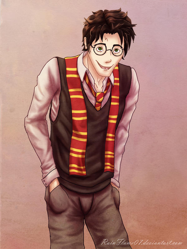 Harry Potter by x-RainFlame-x