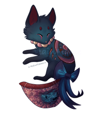 Foxfan Pagedoll Commission- 2 by x-RainFlame-x
