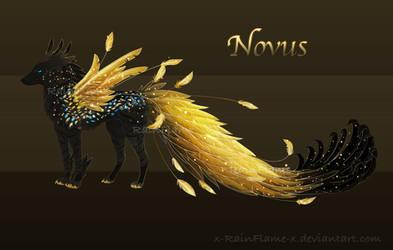 [OTA] Paradise Canine Novus Adopt- OPEN! - Rare by x-RainFlame-x