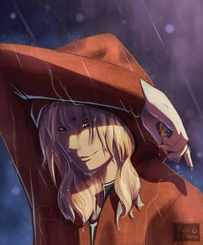 In the Rain- FMA Fan Art
