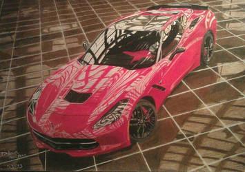 Corvette c7 stingray by solarstorm9