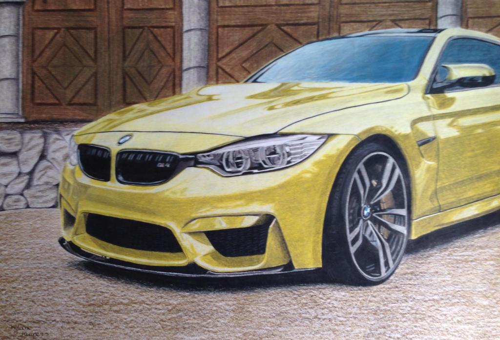 BMW M4 by solarstorm9