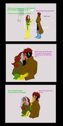 Rogue-Gambit Comic by IridecentMe