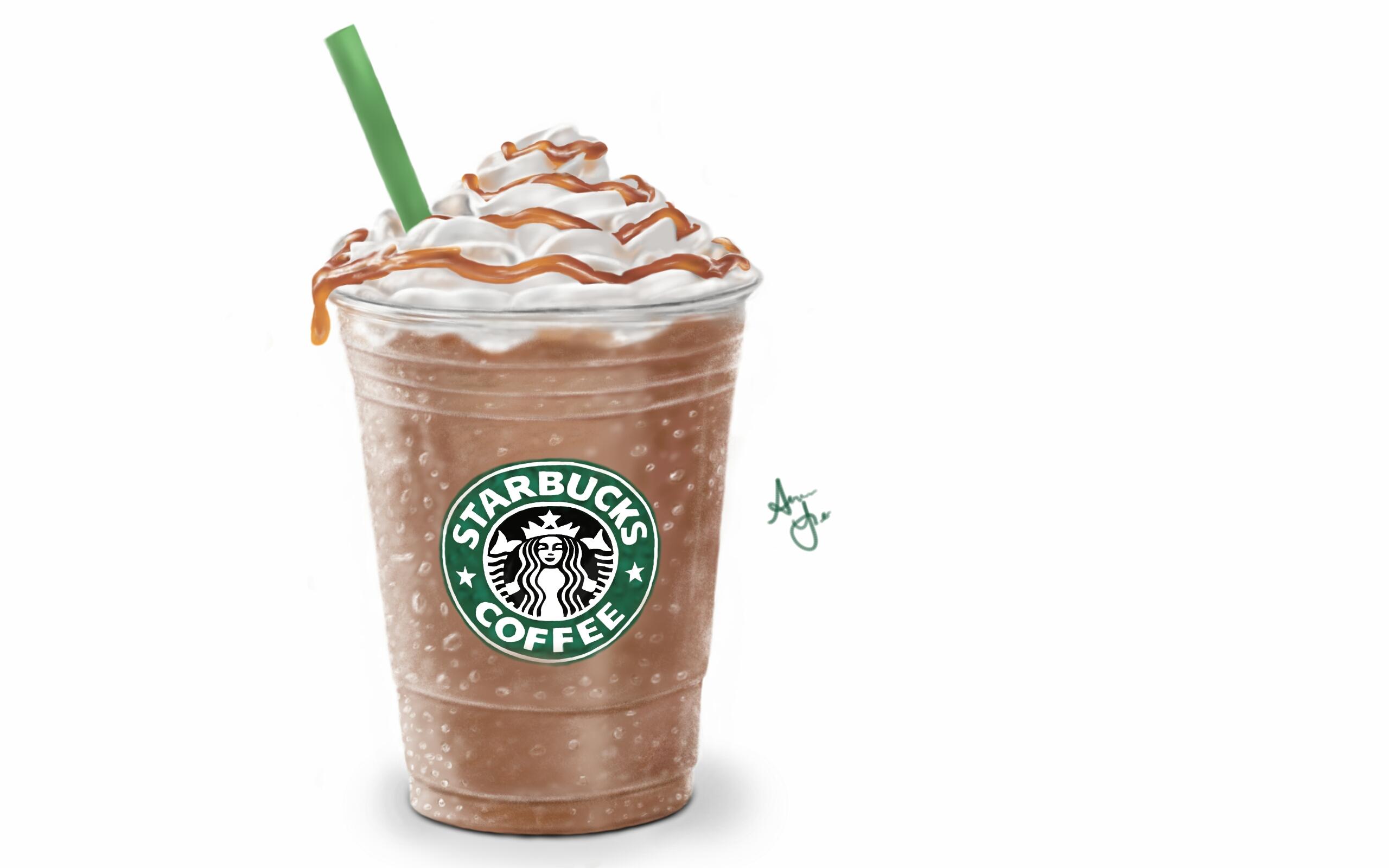 Starbucks Frap by laziee2ann on deviantART