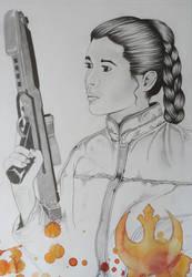 Leia II by JackieBelonzo