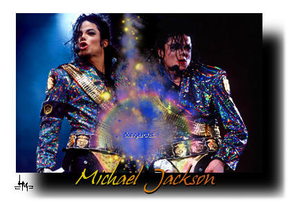 Dangerous - Michael Jackson by Saix-TheLunaDiviner
