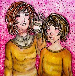 Simone and Lisa by MCA-art