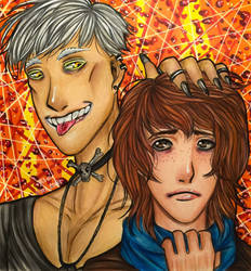 Tracey and Eli Lillison by MCA-art