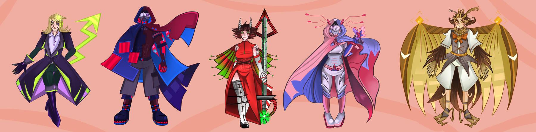 Hideaway characters 2/3