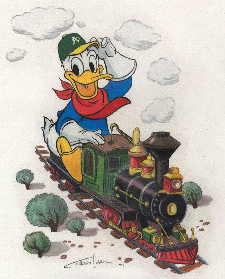 Donald Duck Train
