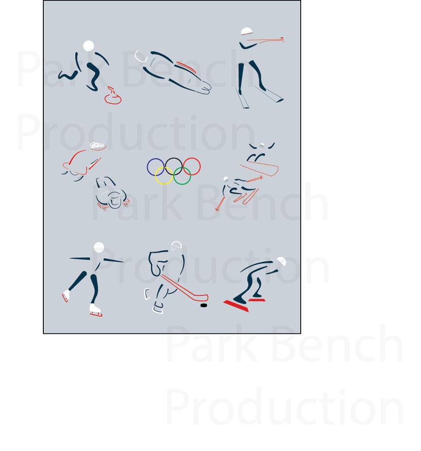 Winter Olympics 2014 Icons by ParkBenchProduction