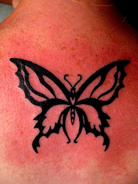 Butterfly outline by superchickenn123 on deviantART