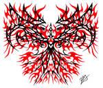 Pheonix tribal design