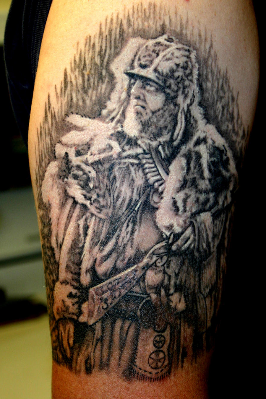 Top mountain man tattoos images for pinterest tattoos for Mountain man tattoo