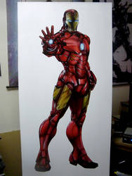Ironman Airbrushed by superchickenn123
