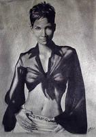Halle Berry by superchickenn123