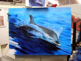 Dolphin - WIP 2 by superchickenn123