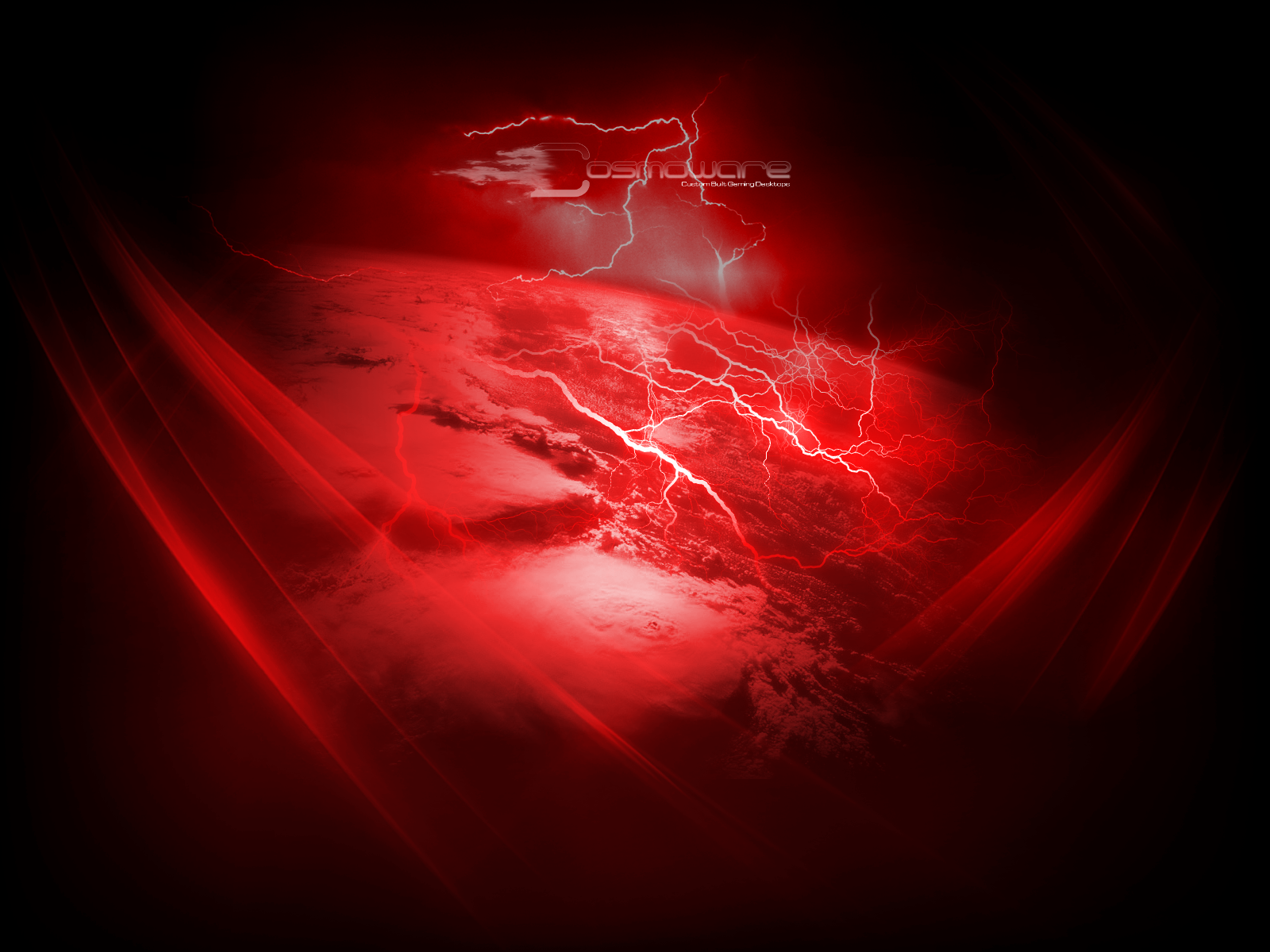 Cosmoware red Lightning storm by Cosmoware-Design on DeviantArt