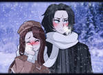 | HP OC | Walking under the snow