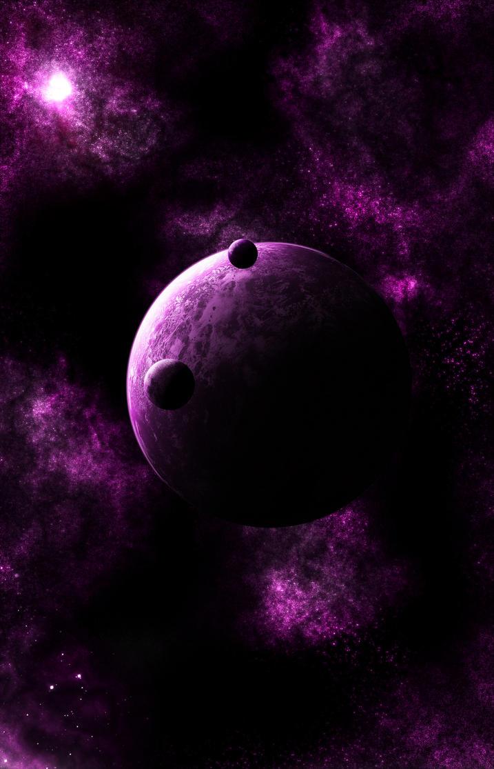 Purple fantasy by PhobosKE