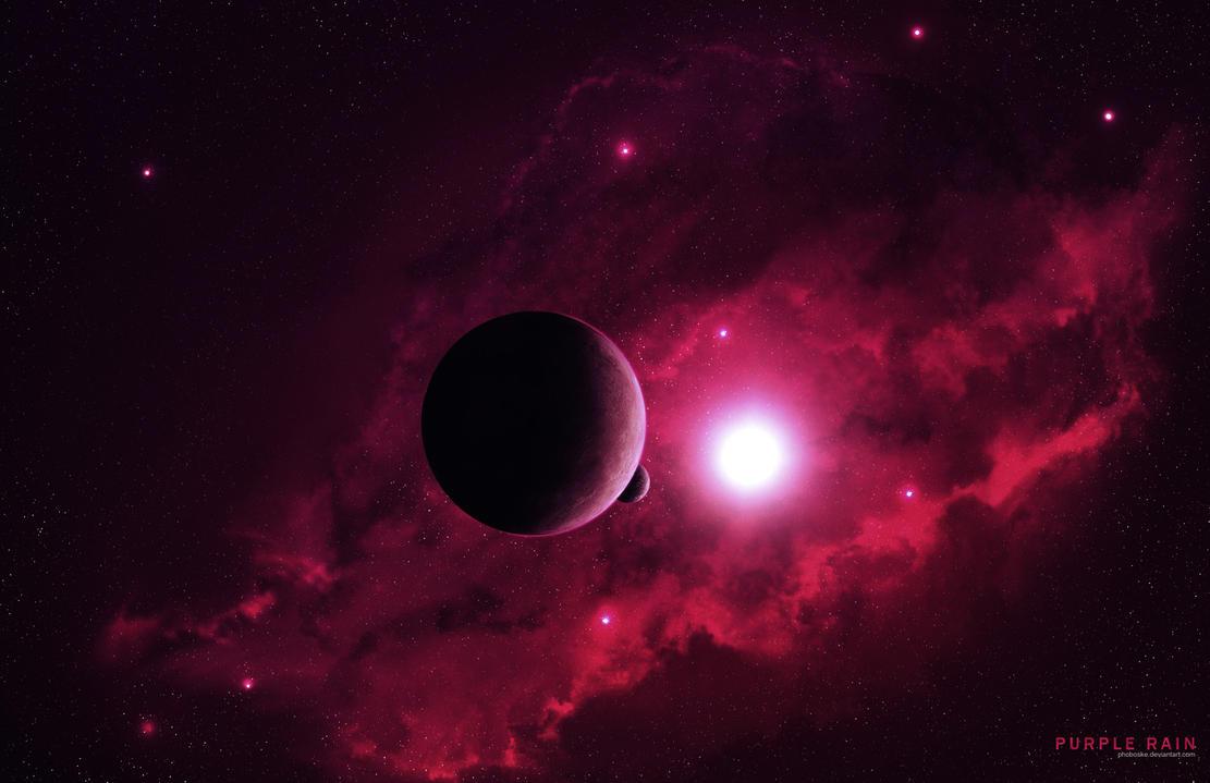 Purple rain by PhobosKE