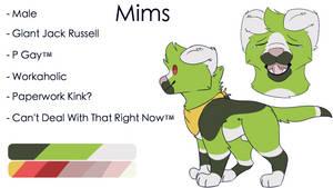 [2019] Mims Ref by Reddie-Mercury