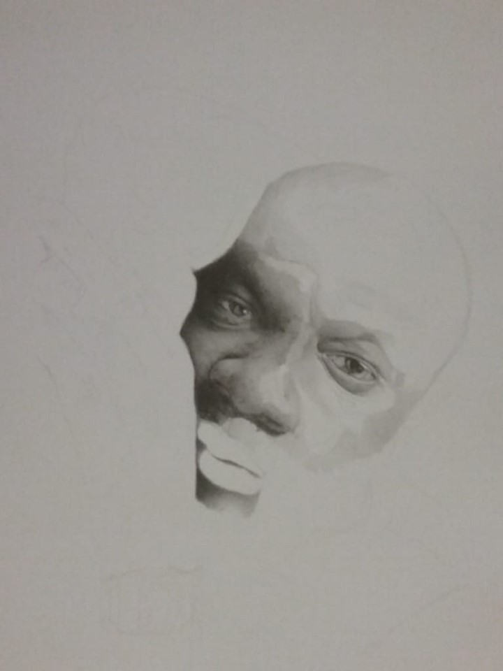 Isaac Hayes WIP 2 by silentsketcher97