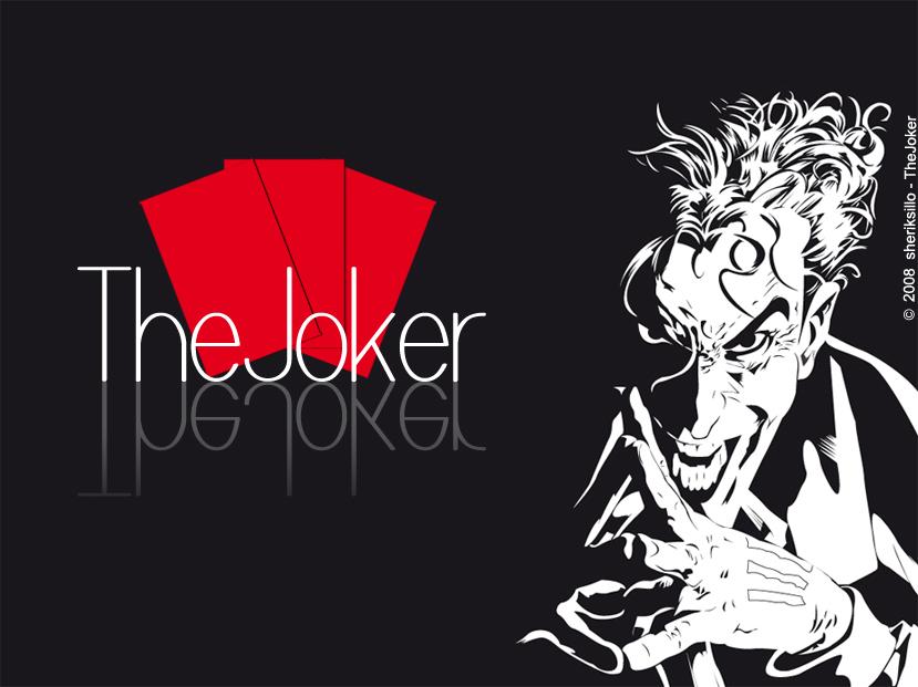 The Joker Vector By Sheriksillo On Deviantart
