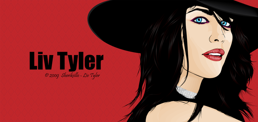 Liv Tyler Vector by sheriksillo
