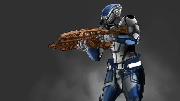 Mass Effect Fan Art 1