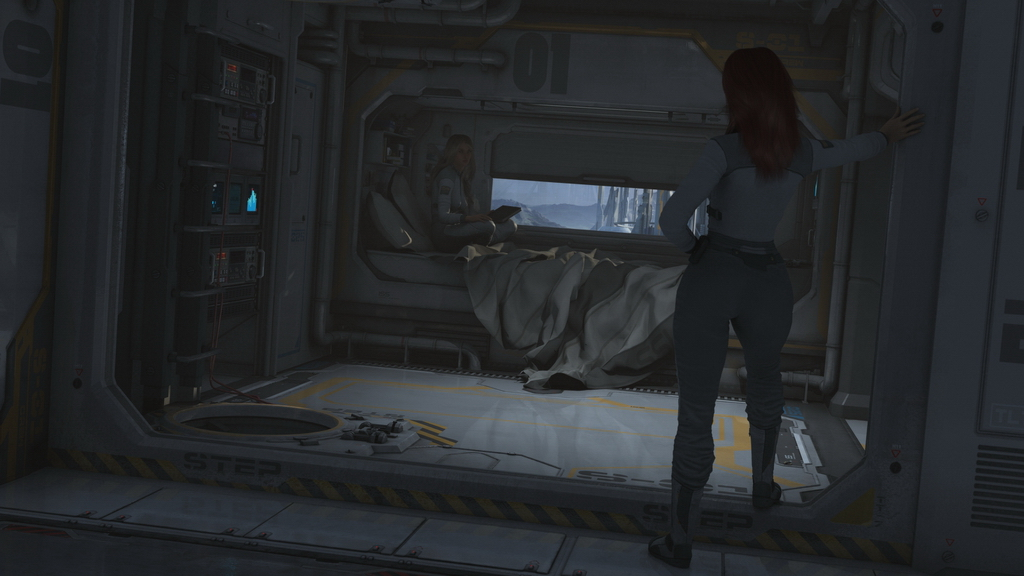 Sci Fi Bedroom By A Bomb Called Cherry On DeviantArt