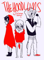 The Hoodlums (with a story :D) by Radioactive-Snake
