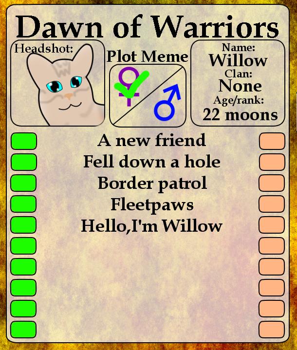 Willow Plot Meme By Shiningstarofwinter On DeviantART