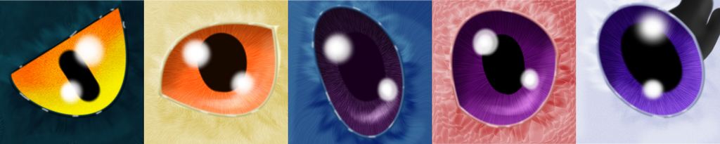 More eyes by Shiningstarofwinter