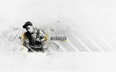 Wiz Khalifa by DesignsByGuru