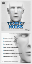 Tears of Noise - Mike Lee by DesignsByGuru