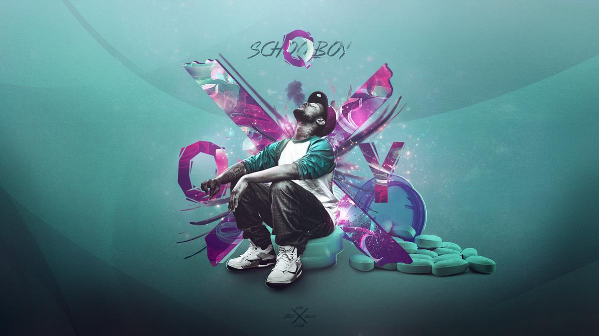 Schoolboy Q by DesignsByGuru