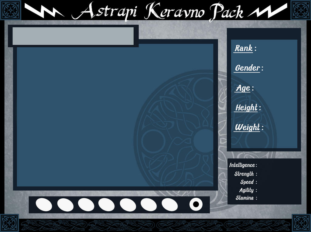 Astrapi Keravno Pack: Official Reference Sheet by Sedillio