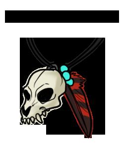 Skull Pendant by Sedillio