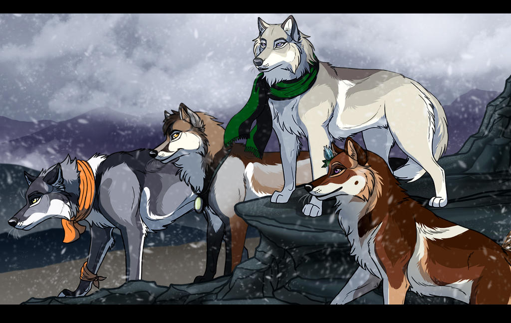 Wolfs-Descent: On our way! by Sedillio