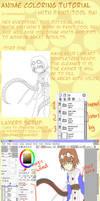 Coloring Anime in SAI Tutorial